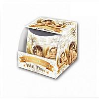 Ly nến thơm tinh dầu Bartek Christmas Angels 100g QT028604 - bánh Canele Pháp (giao mẫu ngẫu nhiên)