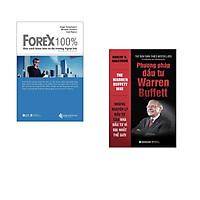 Combo 2 cuốn sách: Forex 100% - Học Cách Kiếm Tiền Trên Thị Trường  + Phương Pháp Đầu Tư Từ Warren Buffett