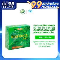 Viên uống TPCN hỗ trợ làm dịu cơn ho,đau họng,khàn tiếng - ROB EUCA FORT- Hộp 100 viên