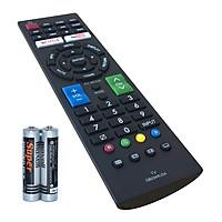 Remote Điều Khiển Cho Smart TV, Internet TV, TV Thông Minh SHARP GB234WJSA (Kèm Pin AAA Maxell)
