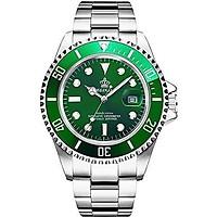 Mens Luxury Watches Ceramic Bezel Luminous Quartz Silver Gold Two Tone Stainless Steel Watch Waterproof