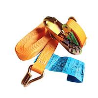 Dây Cảo Tăng Đơ Chằng Hàng Bản 25mm Màu Cam Chiều Dài Tự Chọn