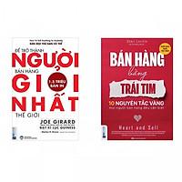 Combo Tuyệt Chiêu Bán Hàng: Để Trở Thành Người Bán Hàng Giỏi Nhất Thế Giới + Bán Hàng Bằng Trái Tim (Tặng kèm bookmark thiết kế)