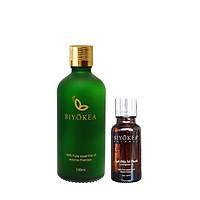 Combo tiết kiệm - Tinh dầu Sả Chanh 100ml TẶNG tinh dầu Sả Chanh 20ml thương hiệu BIYOKEA