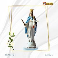 Tượng sứ - Mẹ Phù Hộ 17cm