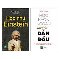 Combo Học Khôn Ngoan Để Dẫn Đầu + Học Như Einstein (Tặng Kèm 9 Kỹ Năng Làm Việc Quan Trọng Hơn Bằng Cấp)