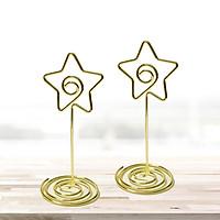 2 kẹp xoắn hình ngôi sao