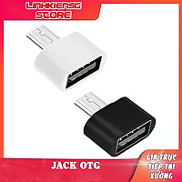 JAck chuyển Otg Type C / Cáp Otg Micro USB/Cáp Otg iphone