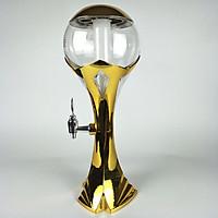 Tháp bia cúp mạ vàng 3L có đèn led khay đá C3-ST0192