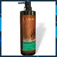 Collagen MASARONI Rich Biotin - Kem hấp ủ tóc phục hồi siêu mượt tóc Canada 800ml