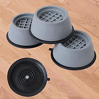 4pcs Anti Vibration Pads for Washing Machine Prevent Noise Moving Shaking Walking Non Slip Grip Feet Pads for Washer Dryer Furniture
