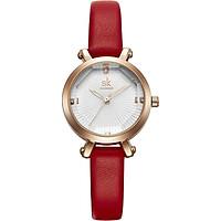Đồng hồ nữ chính hãng Shengke Korea K8046L-03 Đỏ