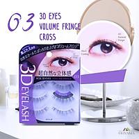 Lông mi giả Koji 3D Eyes 03 Volume Fringe (cho mắt mí lót)