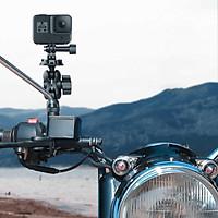 Mount đế gắn GoPro lên kính chiếu hậu xe máy Telesin - Phụ Kiện cho GoPro, Sjcam, Yi Action, Osmo Action (Hàng Chính Hãng)