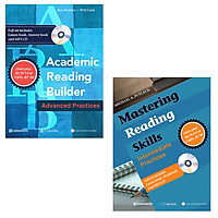Combo Academic Reading Builder + Mastering Reading Skills