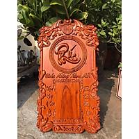 Tranh đốc lịch treo tường chữ PHÚC gỗ hương hàng cao cấp, sang trọng