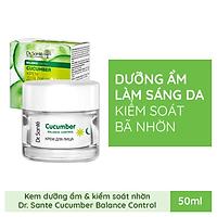 Kem dưỡng da giúp dưỡng ẩm và kiểm soát nhờn Dr. Sante Cucumber Balance Control 50ml