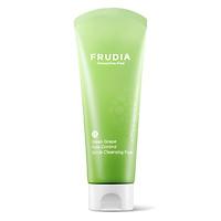 Sữa Rửa Mặt Frudia Green Grape Control Scrub Cleansing Foam Kiểm Soát Lỗ Chân Lông Nho Xanh 145ml