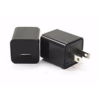 Củ sạc 5V-1A thích hợp sạc cho tai nghe bluetooth và smart watch - màu đen