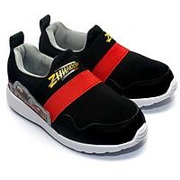Giày Lười Bé Trai Disney Vương Quốc Xe Hơi CAR 093-BR Đỏ Đen