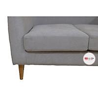 Sofa Văng Màu Xám Phong Cách Hiện Đại 1m2