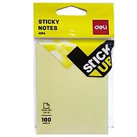 Bộ 2 Giấy Nhắn Deli A01402 - Màu Vàng