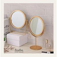 Gương để bàn Gương xoay