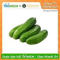 [Chỉ giao HCM] - Dưa leo size 15-18cm (1kg) - được bán bởi TikiNGON - Giao nhanh 3H