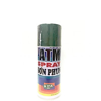 Sơn Xịt ATM Spray A214 Xanh Lá cao cấp, sang trọng, bền màu, lâu trôi