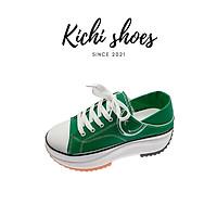 Giày thể thao nữ đế độn tăng chiều cao mã 562 - Kichi Shoes