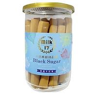 Thanh bánh sữa đường nâu Milk 17 Đài Loan 200g
