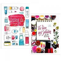 Combo 2 cuốn Dưỡng Da Trọn Gói+ Tự Làm Mỹ Phẩm ( Tặng kèm bookmark PD)