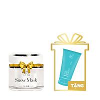 Snow Mask (Mặt Nạ Tuyết) 50g + Tặng Rice Body Makeup Mini 30g - T.H.Y