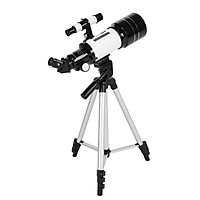 70mm Astronomical Telescope 150X High Power Monocular Telescope Refractor Spotting Scope with 5×24 Finder Scope Tripod