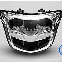 Đèn pha LED 2 tầng Dành Cho Yamaha Exciter 150 – Sporty 2019 Mới Nhất