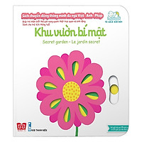 Cuốn sách giúp bé phát triển tư duy logic về vận động:  Sách Chuyển Động - Song Ngữ A-V Secret Garden - Khu Vườn Bí Mật
