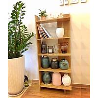 Kệ đứng góc tường bằng gỗ, dùng để đựng sách vở, hồ sơ, tài liệu, văn phòng phẩm, giày dép, túi xách