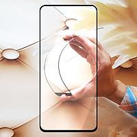 Miếng kính cường lực cho Realme 6 Full màn hình - Đen