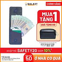 Ví Bóp Da Bò Nam Nữ Nhỏ Gọn Độc Đáo Handmade Galaxy Store GVU05NU - Hàng Chính Hãng