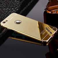 Ốp lưng tráng gương viền kim loại danh cho IPhone 5/IP 6/IP6Pplus/IP7/IP7plus/
