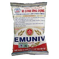 Chế phẩm vi sinh EMUNIV xử lý phế thải nông nghiệp và ủ rác hữu cơ làm phân bón (Gói 200g)
