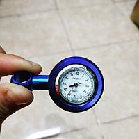 Đồng hồ chân gương xe máy A7 + Tặng kèm 1 bộ Công Tắc Đèn Cửa Tủ Quần Áo - Tủ Bếp