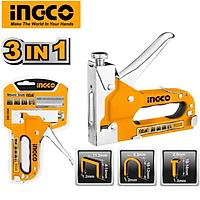 Kìm bấm ghim 3 trong 1 INGCO HSG1405