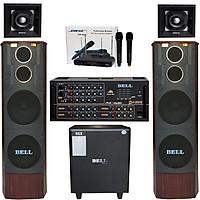 Bộ dàn âm thanh karaoke PA - 1200 VIP - Hàng chính hãng