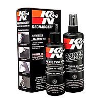 Bộ vệ sinh lọc gió K&N 99-5050BK