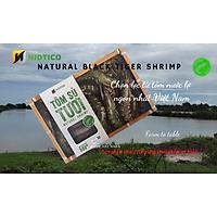 Tôm sú TƯƠI tự nhiên NIDTICO-Đông IQF (41-50con/kg)