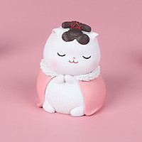 Mô hình Mèo Hoàng Gia Quý Tộc Trang Trí Ô Tô