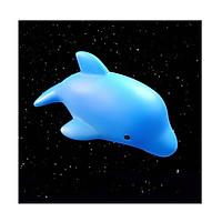 Cá heo có đèn led trang trí hồ cá