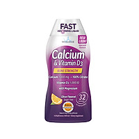 Thực Phẩm Chức Năng Canxi & Vitamin D3 Dạng Nước Calcium & Vitamin D3 Liquid, 480ml