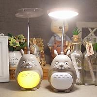 Đèn học đèn để bàn Totoro siêu xinh (Tặng móc khóa gỗ BTS thiết kế độc quyền)